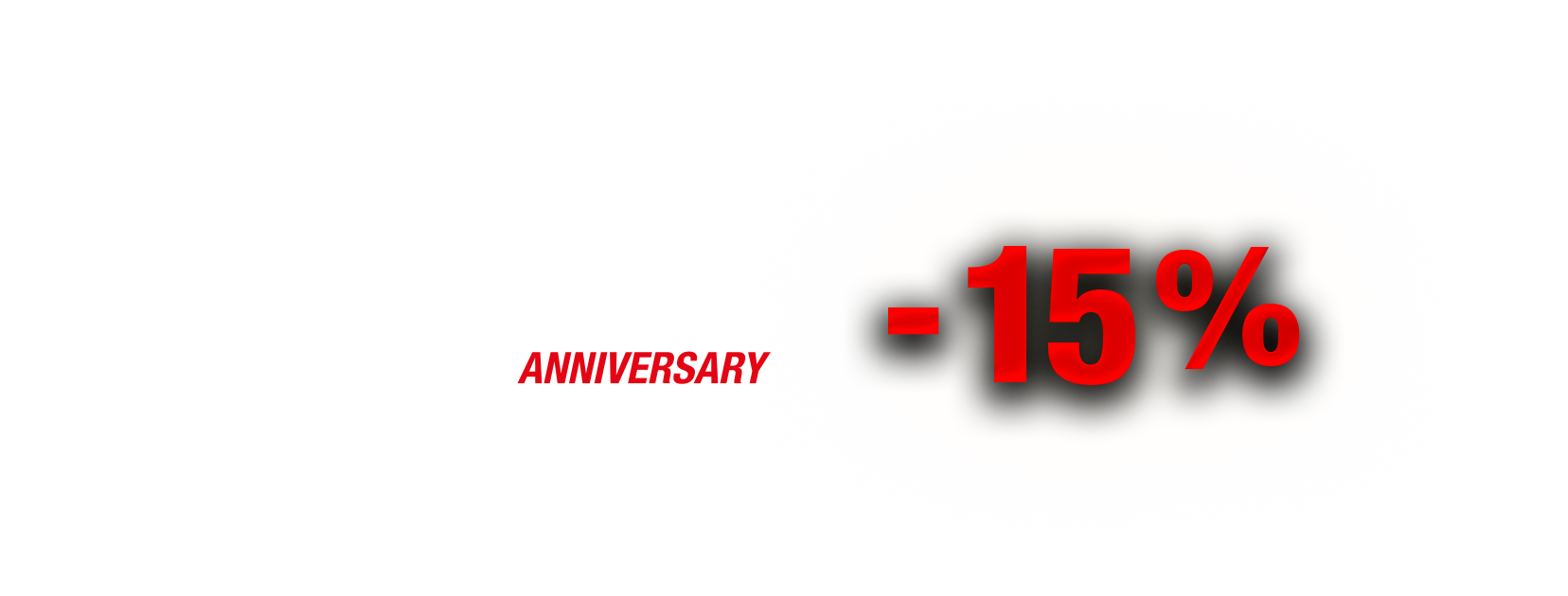 ShifTech 10 years anniversary discount