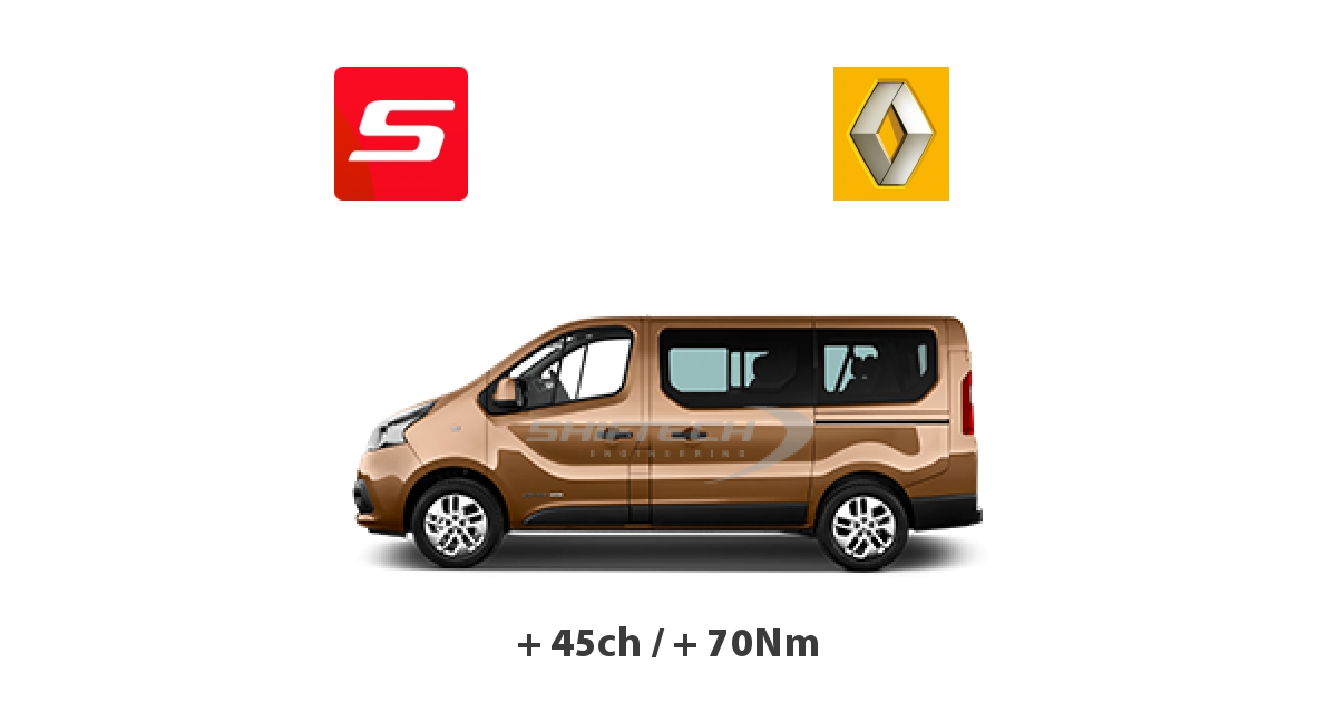 reprogrammation moteur renault trafic 2014 1 6 dci bi turbo 120ch. Black Bedroom Furniture Sets. Home Design Ideas