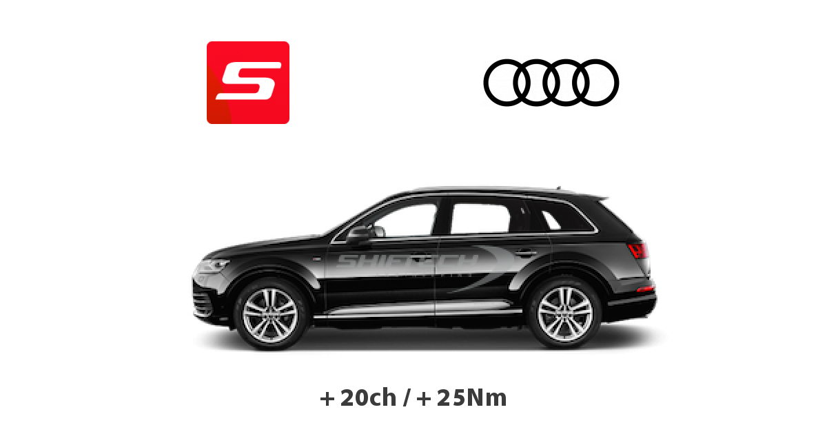 reprogrammation moteur audi q7 2006 4l 4 2 v8 fsi 350ch tours. Black Bedroom Furniture Sets. Home Design Ideas