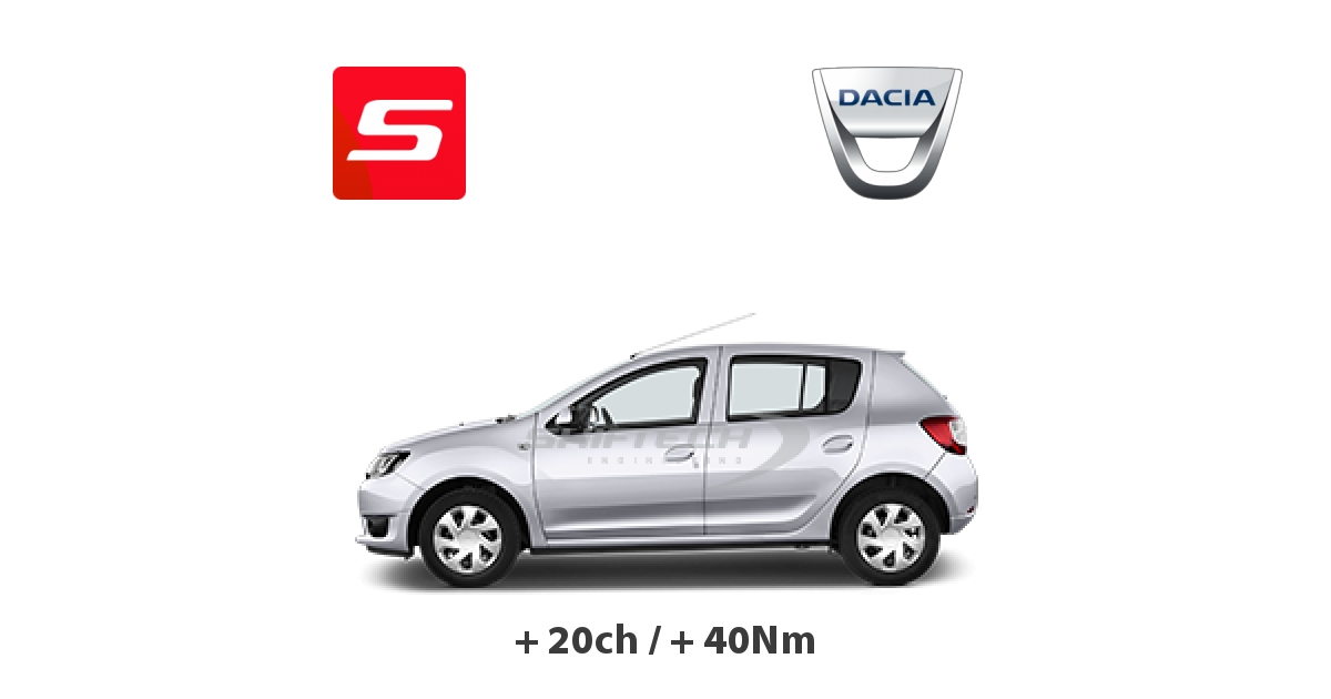 reprogrammation moteur dacia sandero 2008 1 5 dci 85ch tours. Black Bedroom Furniture Sets. Home Design Ideas