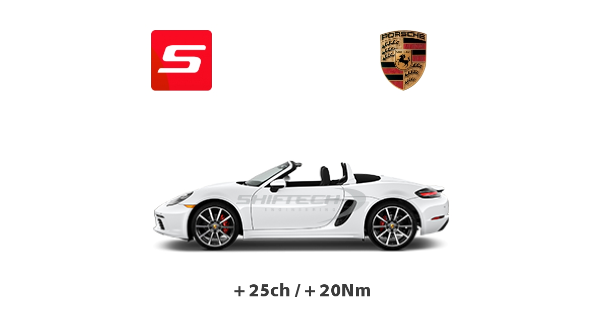 reprogrammation moteur porsche boxster 2012 981 3 4 dfi s 315ch belgique. Black Bedroom Furniture Sets. Home Design Ideas