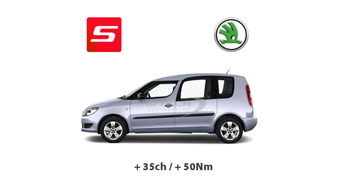 reprogrammation moteur skoda roomster 2006 1 6 tdi cr 105ch tours. Black Bedroom Furniture Sets. Home Design Ideas