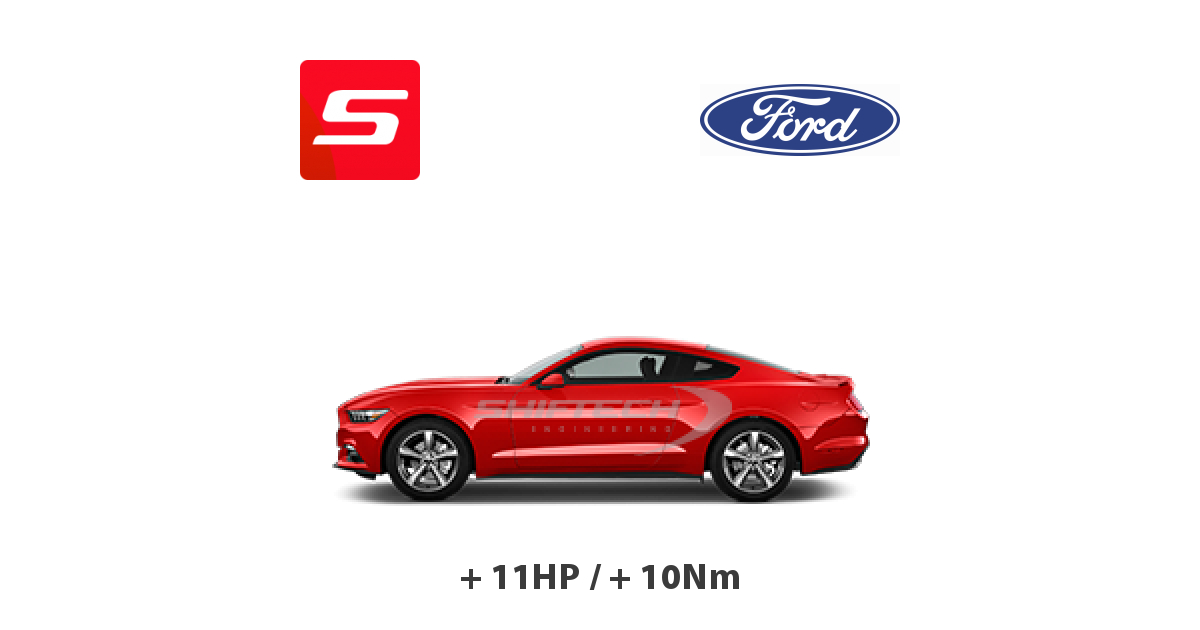 Chiptuning Ford Mustang 2015 3.7i V6 304HP Tours
